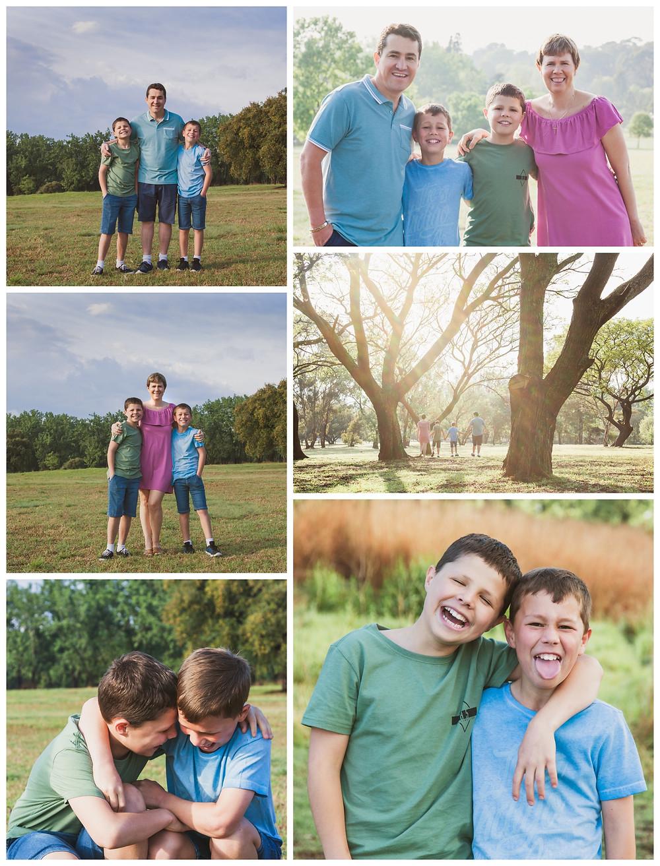 White Family Portrait Session