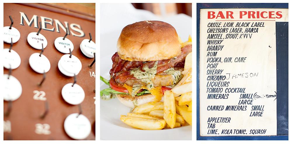 Burgers and Bar Decor