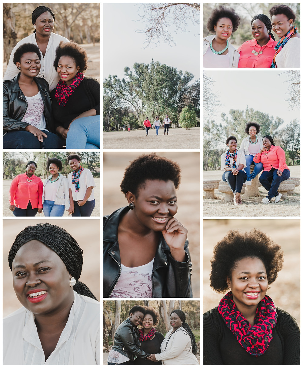 Mpho and sisters family portraits shoot