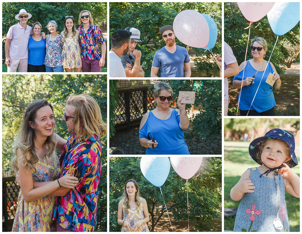 Laura and Gareth's Gender Reveal Photo Shoot