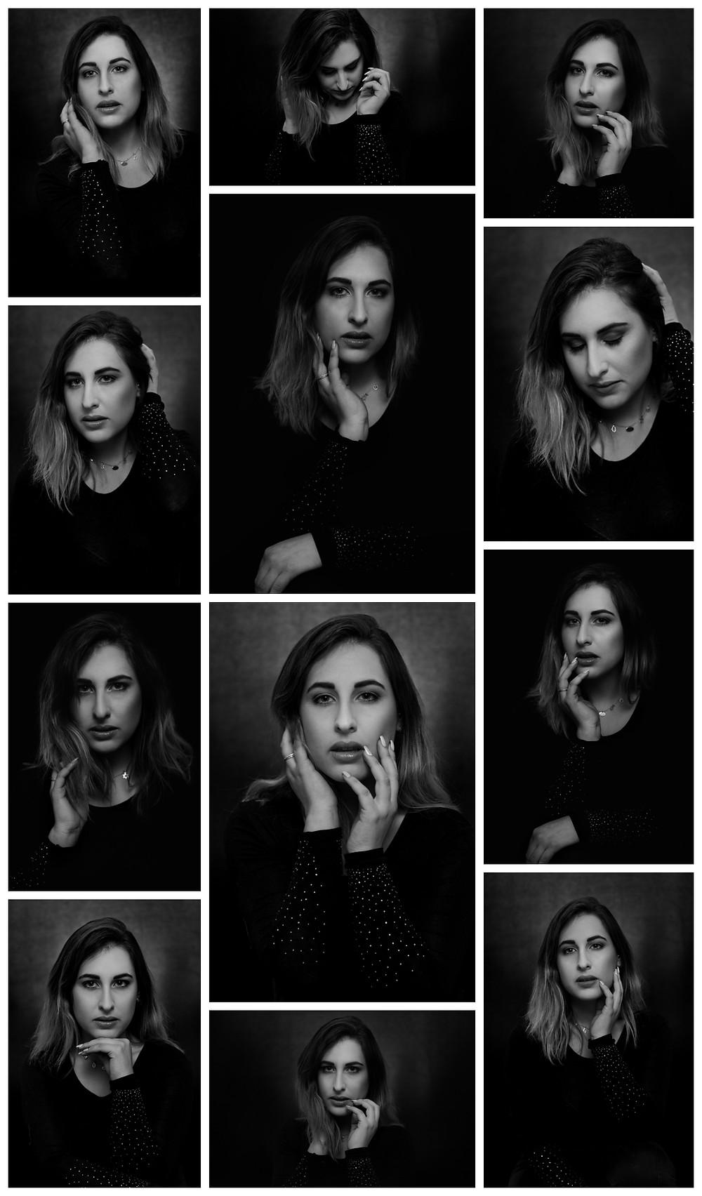Brogan Black and White Portrait Session