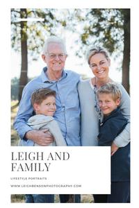 Leigh and Family - Lifestyle Family Portrait Shoot - Delta Park Johannesburg