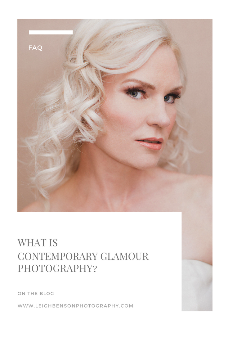 What is contemporary glamour photography?