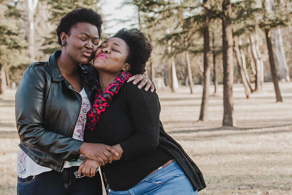 Mpho and Humbulani