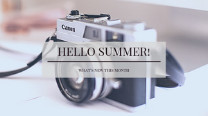 Hello Summer - What's New with Leigh Benson Photography