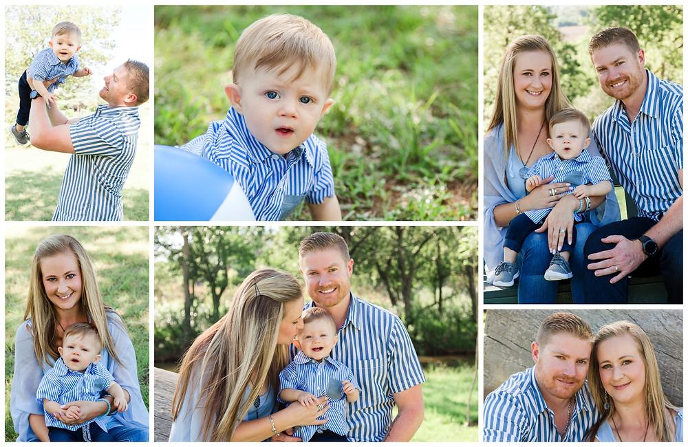 Chantel, Zane And Handre - Family Portraits