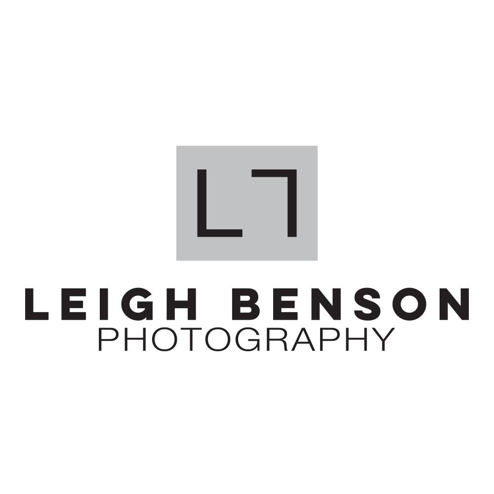 Leigh Benson Photography's brand new logo