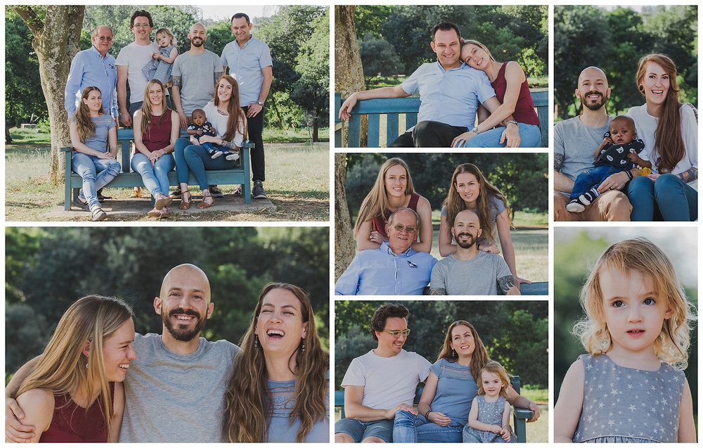 Ali and Family Portrait Session