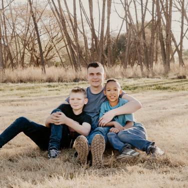 Delta Park Family Shoot - David and the boys