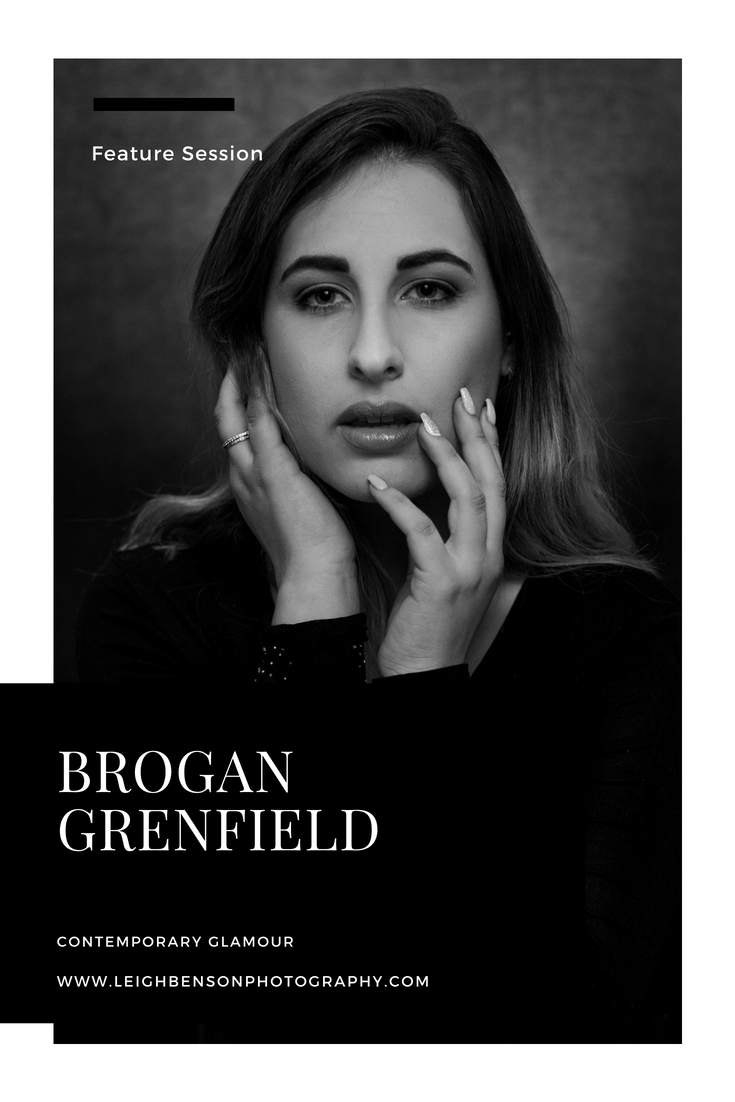 Brogan Grenfield Modern Glamour Portrait Session
