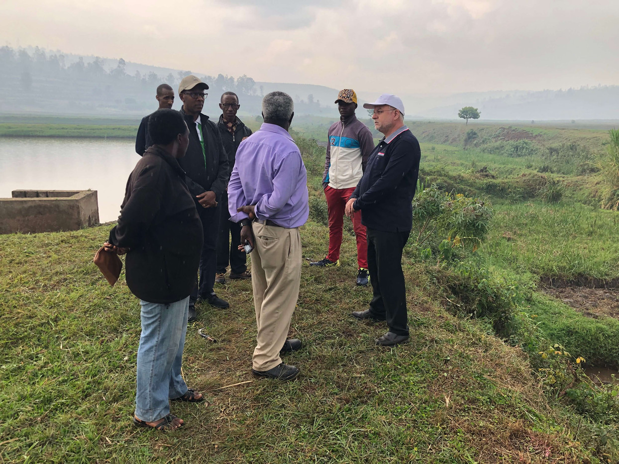Elaga, Burundi 2019, Pisciculture France