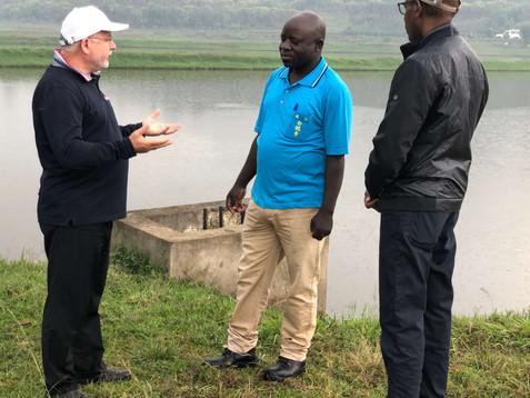 Elaga,   Burundi, Pisciculture France Af