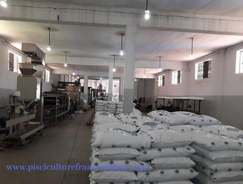 Installation d'usine de fabrication d'aliment (clé en main), Pisciculture France Afrique
