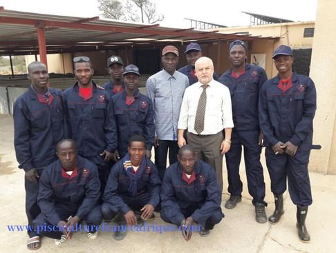 Formation personnel piscicole Pisciculture France Afrique