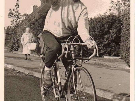 Remembering the pedalling pensioner, George Latham