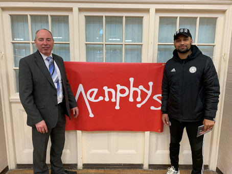 Menphys welcome new ambassador Matt Piper
