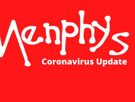 Menphys Services Postponed