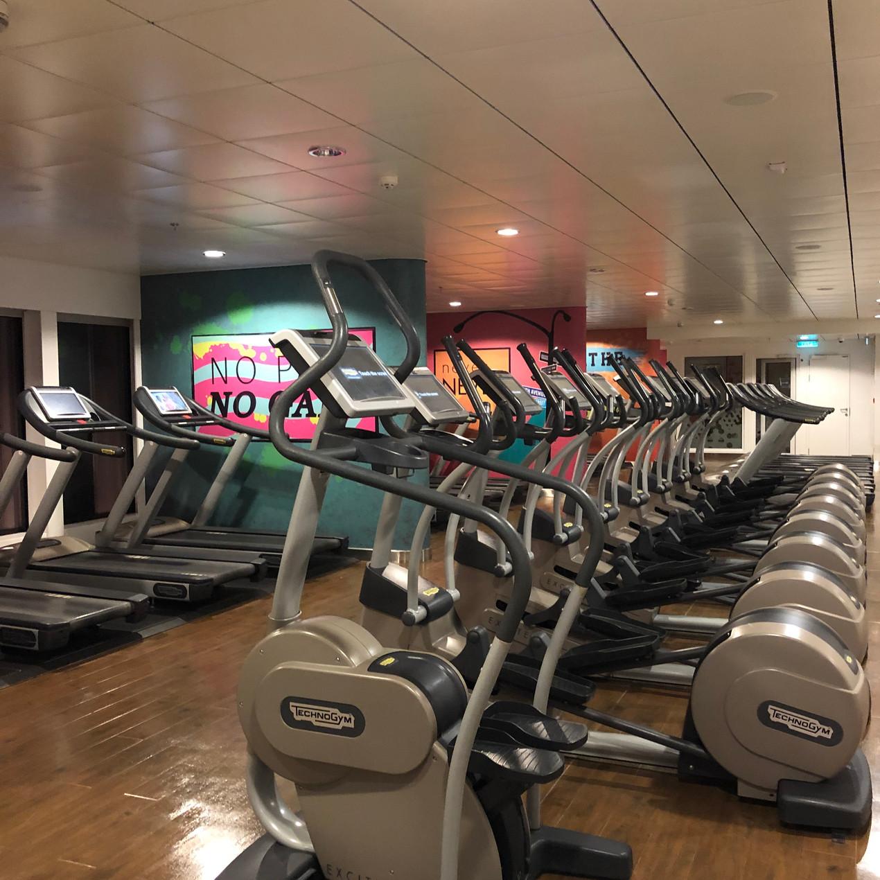Breakaway Gym | Cruise Ship Crayz