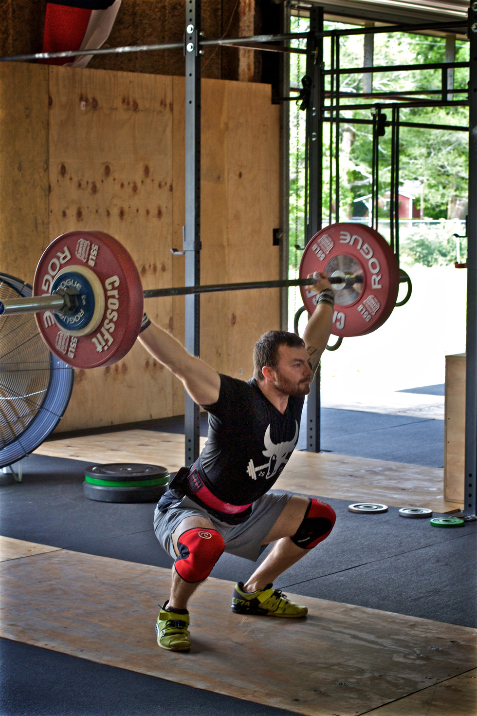 Finally! Pics from the Ante Up CrossFit novice olympic weightlifting meet