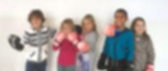 weerbaarheidstraining kinderen boksen