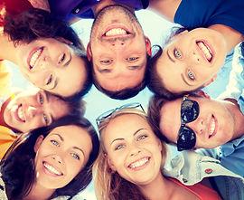 Photo de groupe - entre amis ou en famille