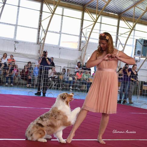 Dog Dancing LOVE