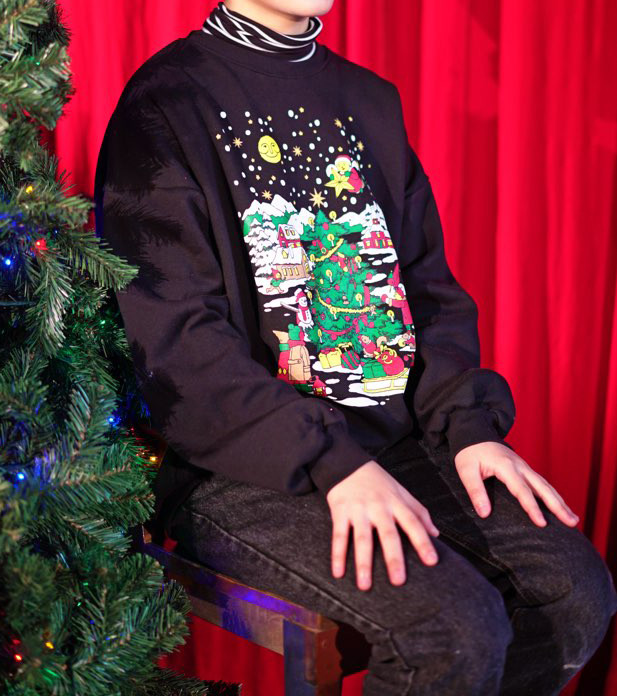 christmas sweatshirts with millionarchive