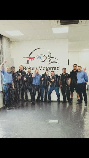 Congratulations Reiten Motorrad BMW