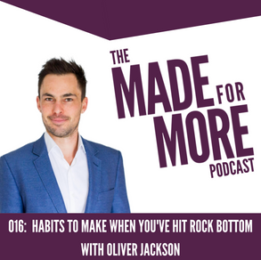 016: Habits To Make When You've Hit Rock Bottom