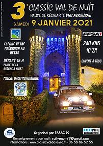 3e rallye Val de nuit