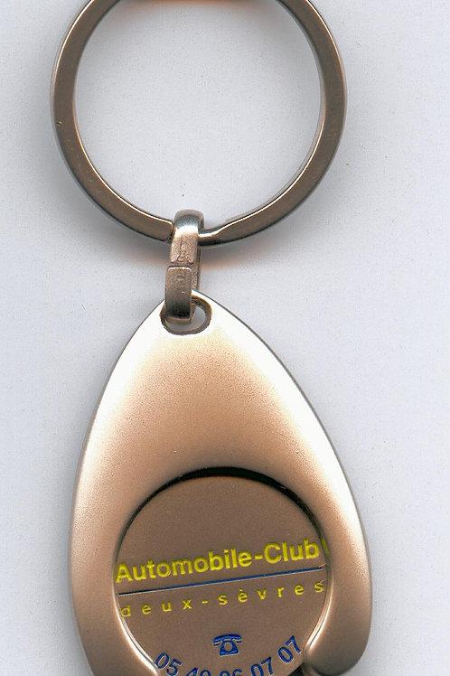 Porte-clés jeton de l AC Deux-Sèvres