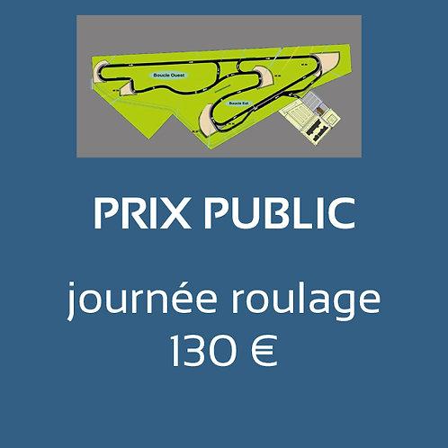 Prix public - journée roulage
