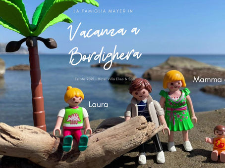 La famiglia Mayer in vacanza a Bordighera