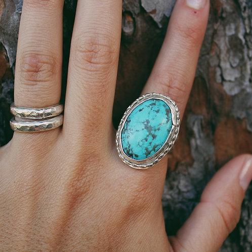 large turquoise ring 8