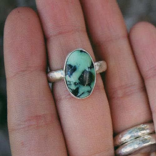 ackerman canyon variscite ring 7
