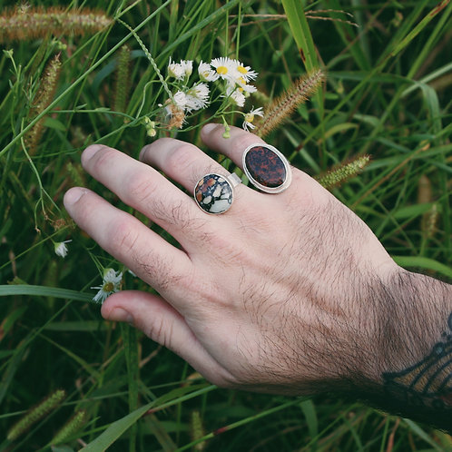 mahogany obsidian ring 7