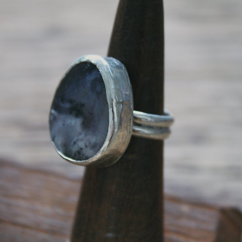 dendritic agate ring 5