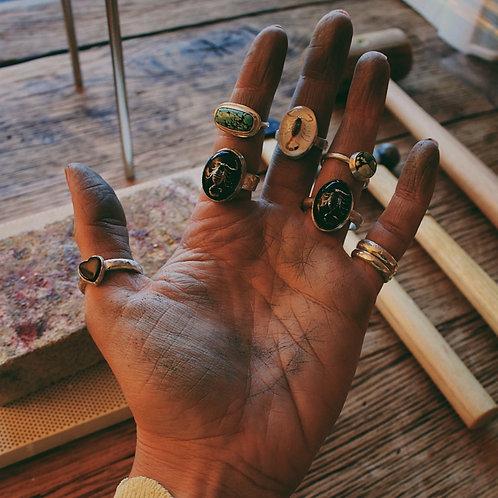 custom ring for Heather