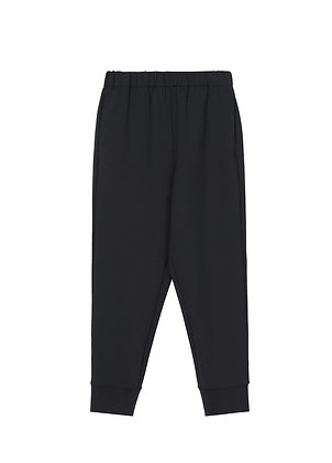 Relaxed trousers in balck