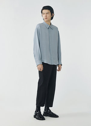 Oversized trousers in black