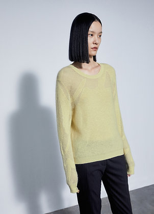 Mohair sweat
