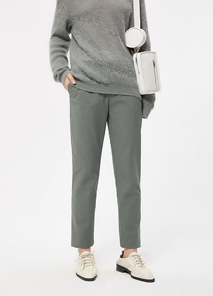 Tapered crop smart trousers