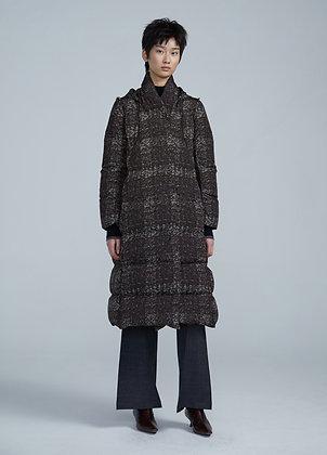 Midi puffer coat