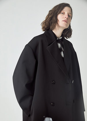 Tailored double breasted coat
