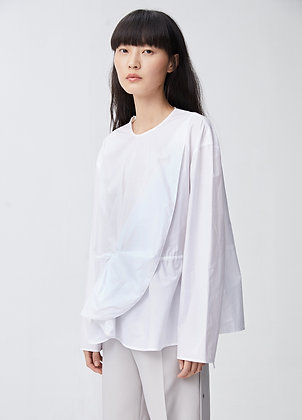 Deconstructed blouse