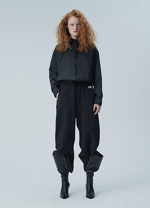 Patched tracksuit pants