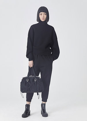 Lounge trousers in black
