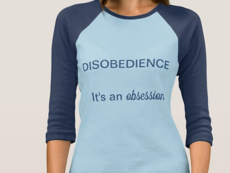 NEW MERCH ALERT: DISOBEDIENCE