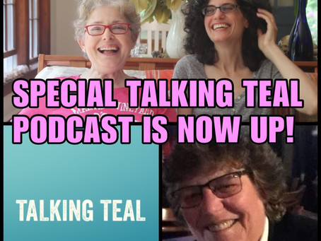TALKING TEAL PODCAST FEATURING RACHEL