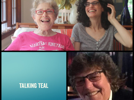 TALKING TEAL PODCAST featuring Rachel Taylor